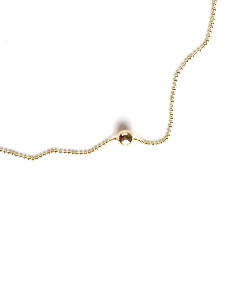 N Layer up necklace Ball chain 1 2