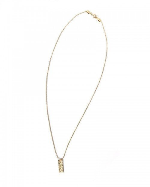 Raw Tag Necklace