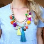 Pom Pom Parade Tassel Necklace 5 1