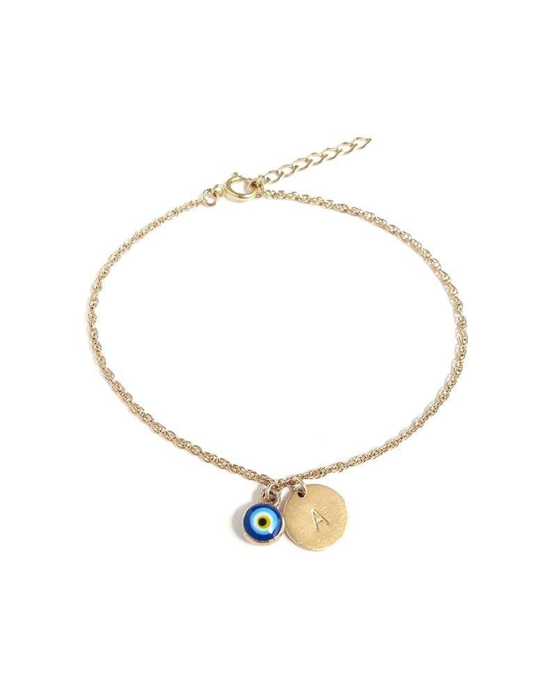 B Evil Eye Mongram Bracelet 1 1