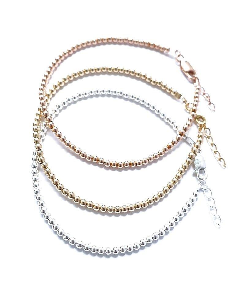 B Mini Bead Bracelets 2 1