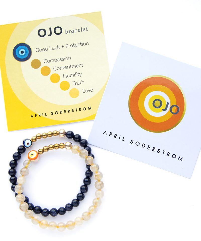 Ojo Bracelet – Turquoise 6mm