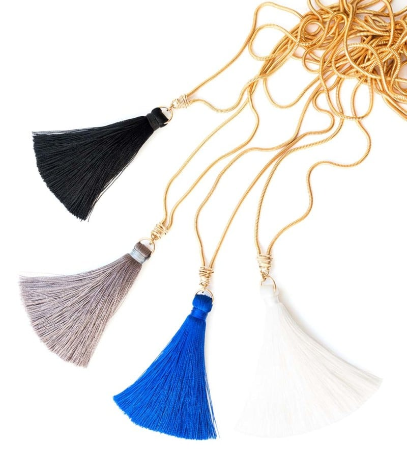 N Fifi Tassel Necklaces All Colors 2 1