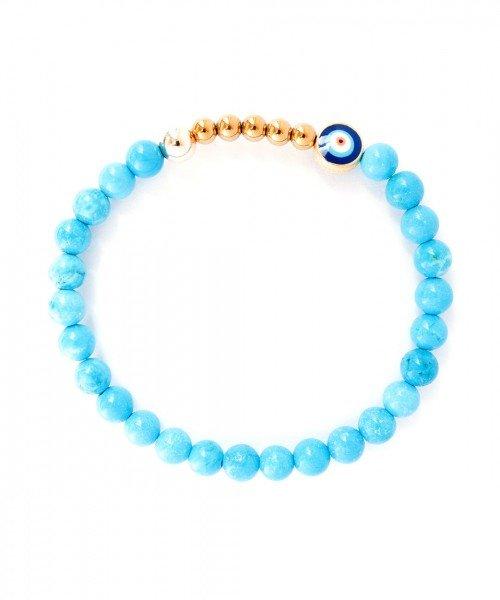 Ojo Bracelet Turquoise 6mm