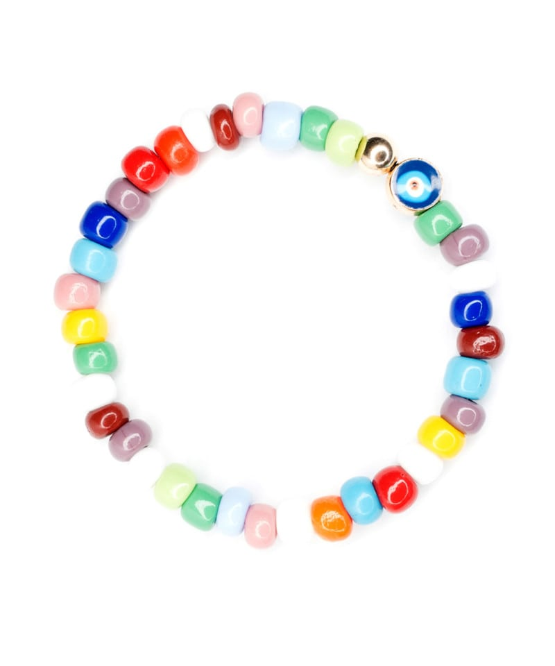 B Pinata Glass Bracelet 6mm 1 2