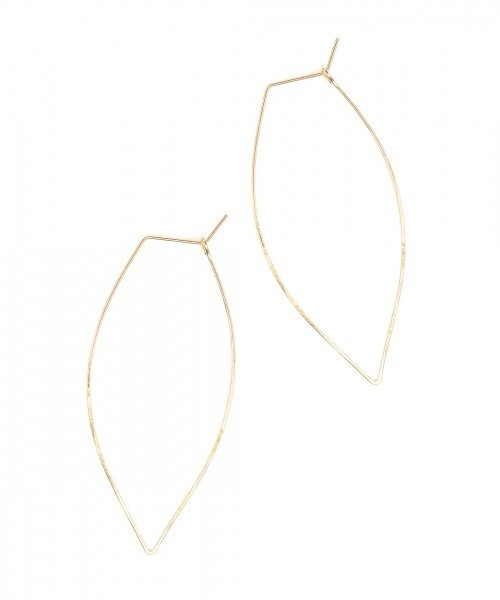 Featherweight Leaf – Large Gold