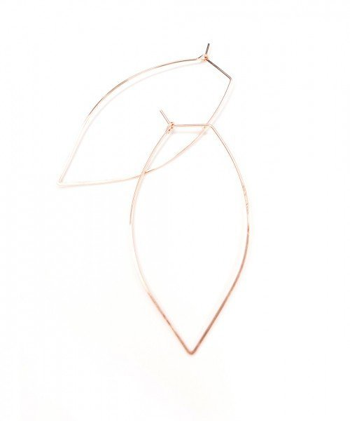 Featherweight Leaf – Large Rose Gold