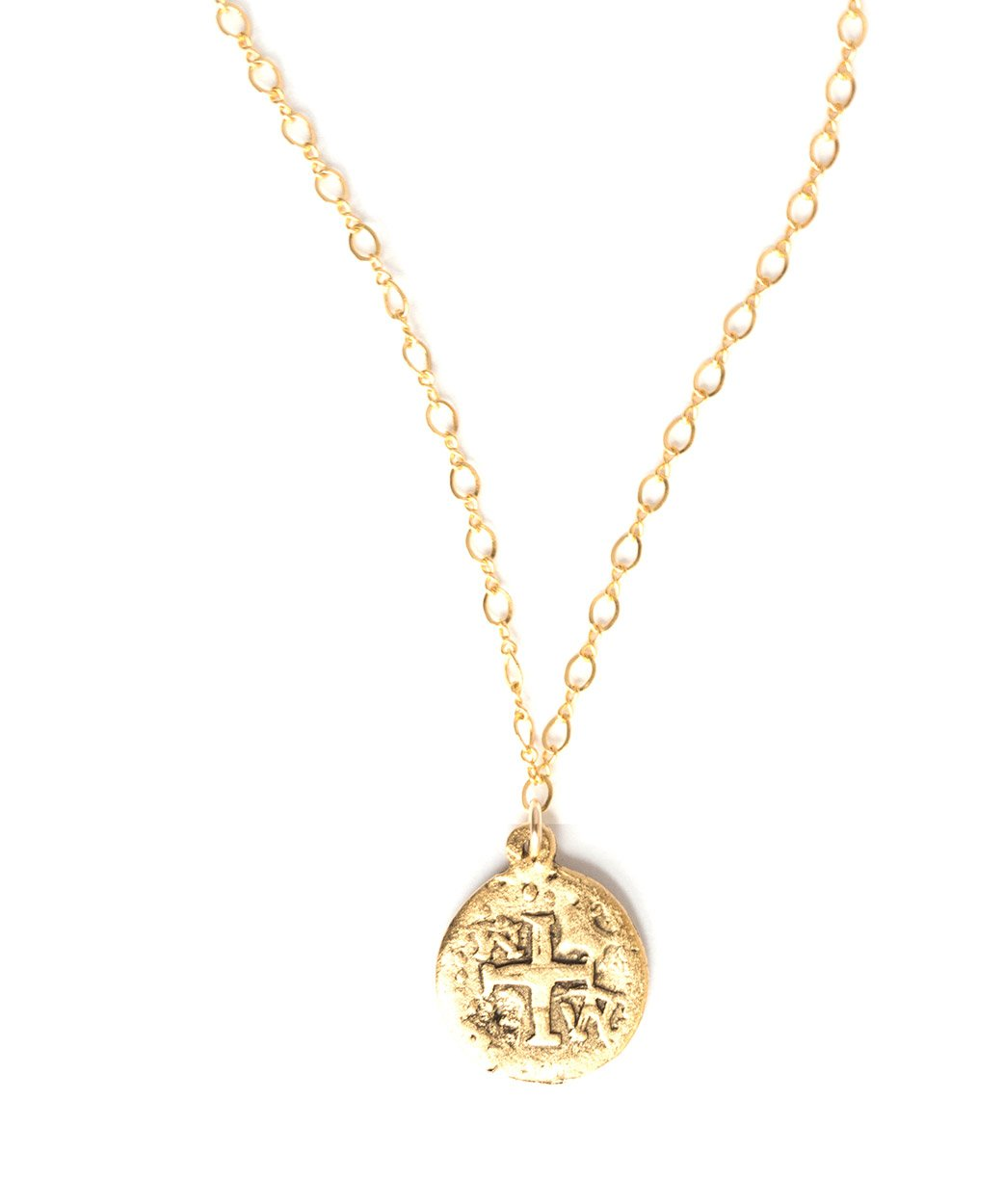 N Doubleloon Coin Necklace 2