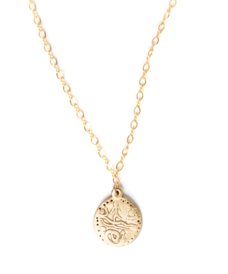 N Doubleloon Coin Necklace 3