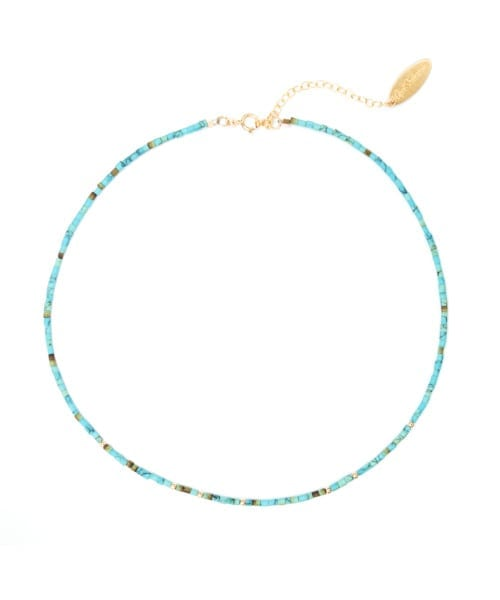 Halona Choker Necklace – Green Turquoise