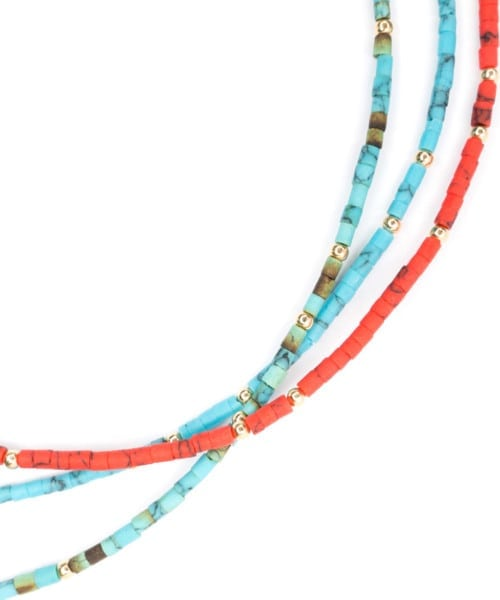 Halona Choker Necklace – Blue Turquoise