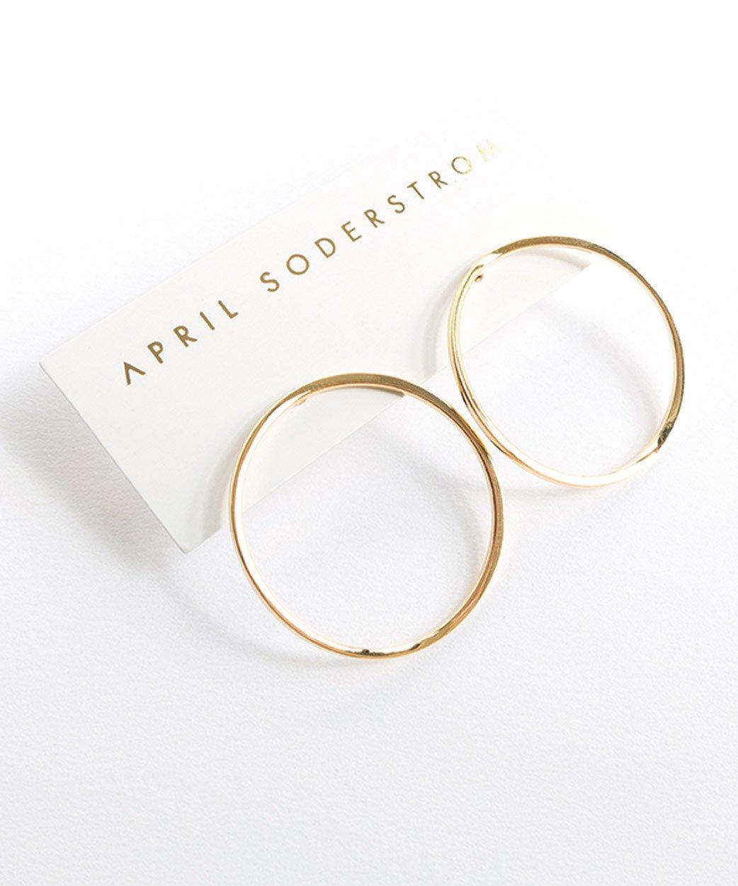 E Cirque Earrings Gold 4