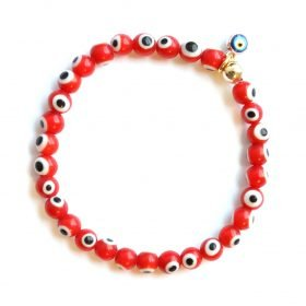 B Nazar Evil Eye Bracelet Red