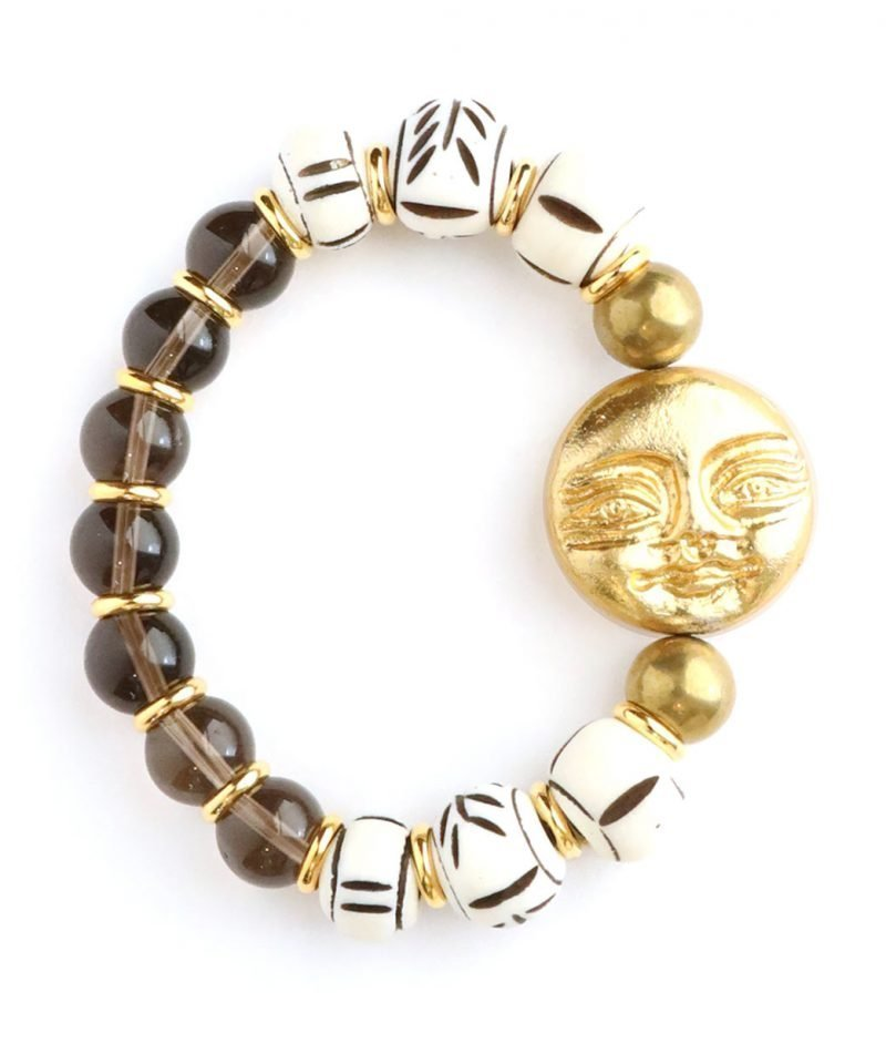 Zulu Bracelet – Smiling Moon & Bone