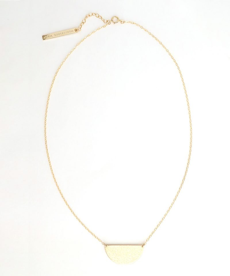 Half Moon Necklace – Large