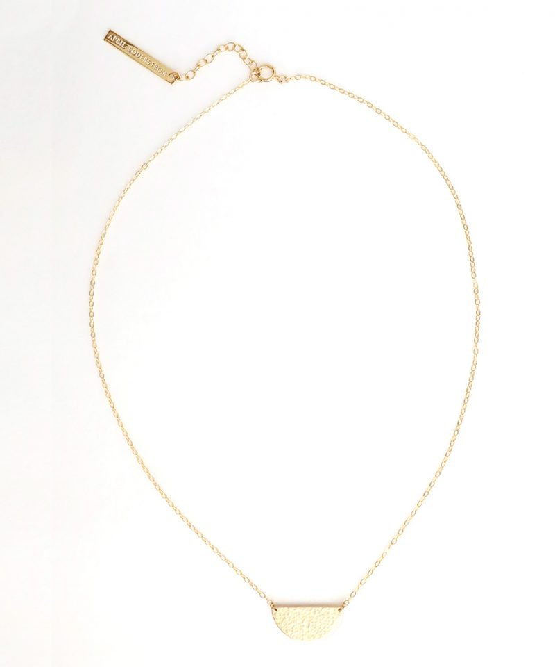 Half Moon Necklace – Medium