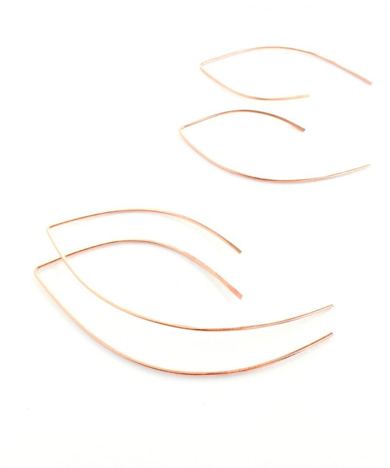 Featherweight Arc – Large Rose Gold