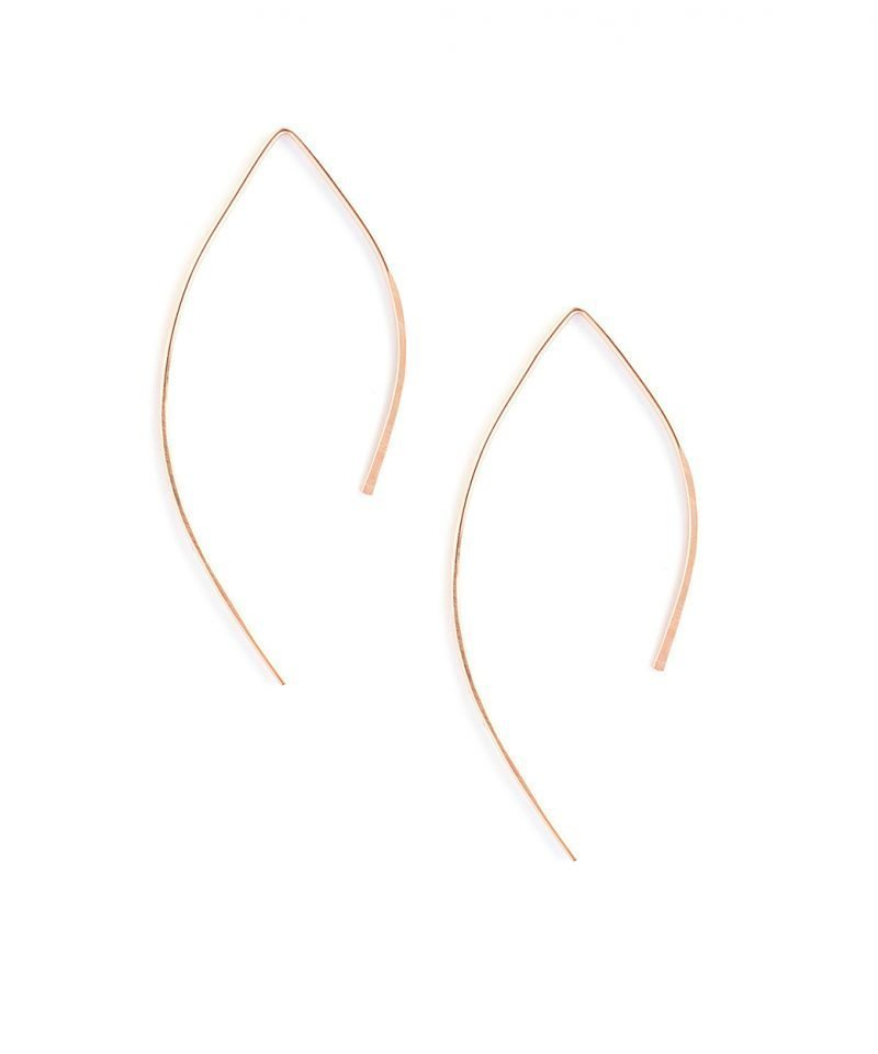 Featherweight Arc – Small Rose Gold