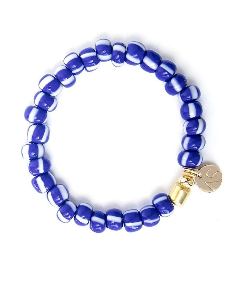 B City Stripe Bracelet Sailor Blue 1