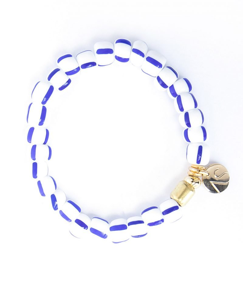B City Stripe Bracelet Sailor White 1