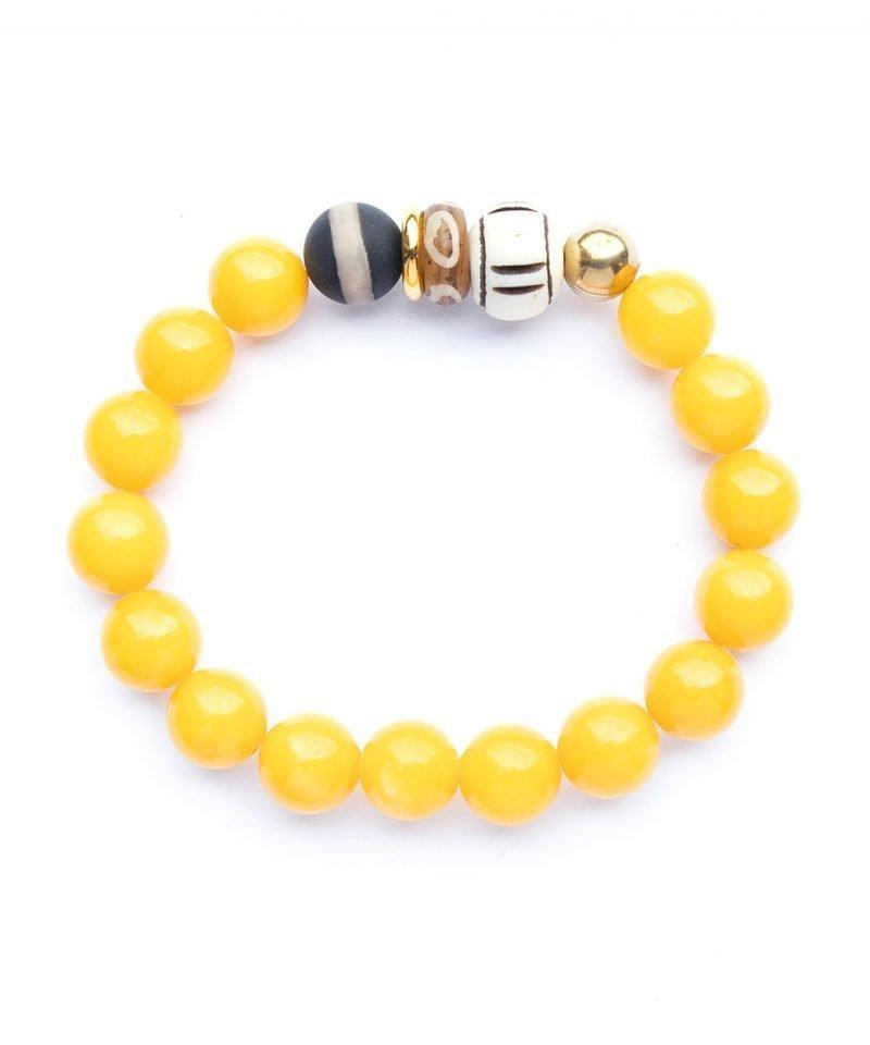 Zulu Bracelet – Mandarin Jade 10mm