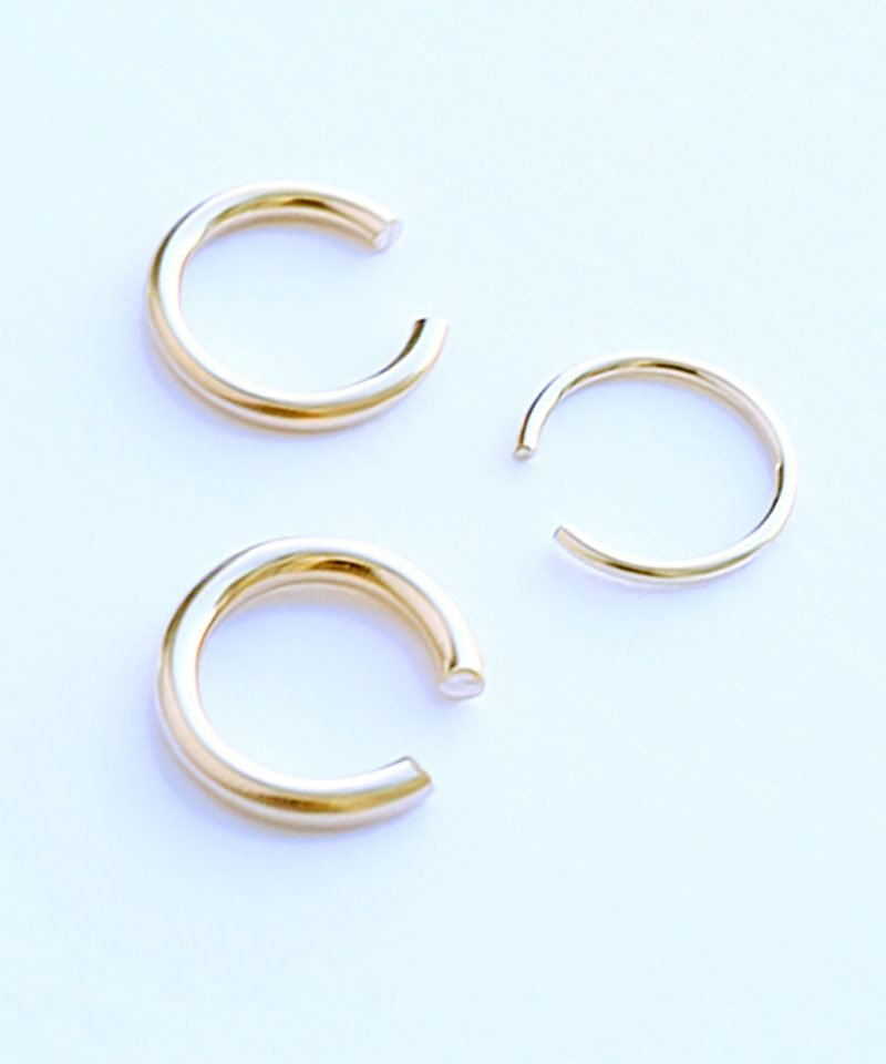 Featherweight Ear Cuff Set – Gold all sizes