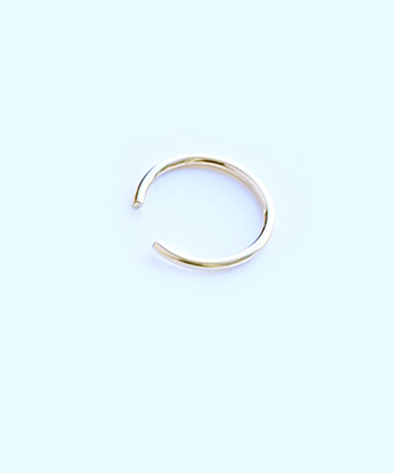 Featherweight Ear Cuff – Small Gold