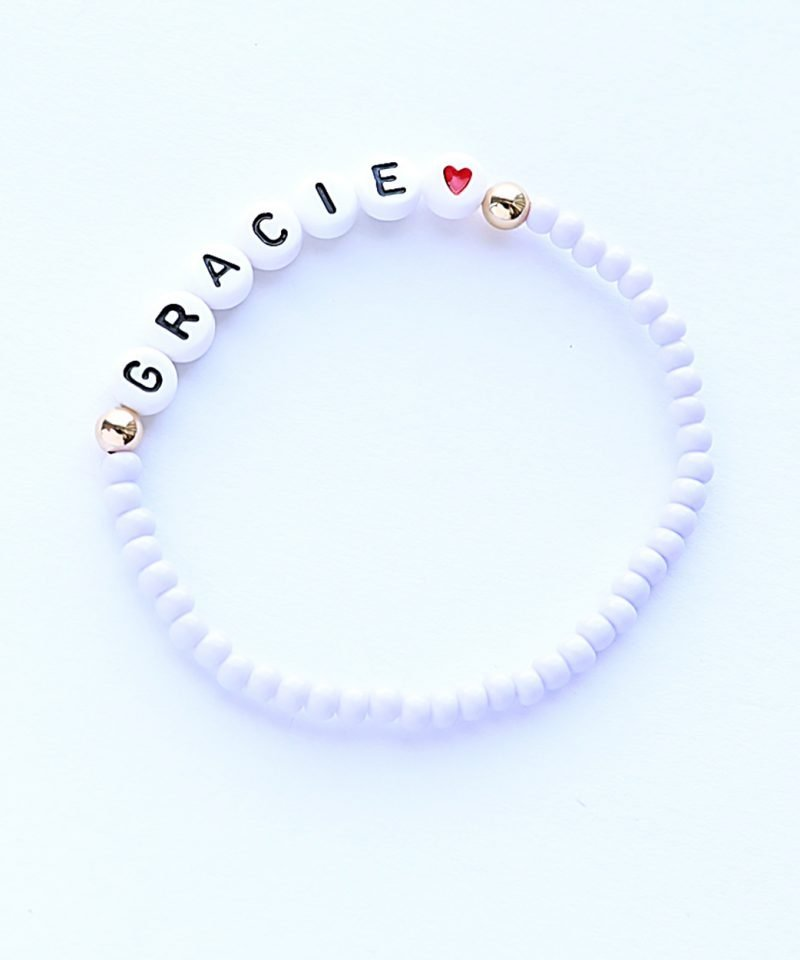 Name Game Bracelet – Color Crush Lavender