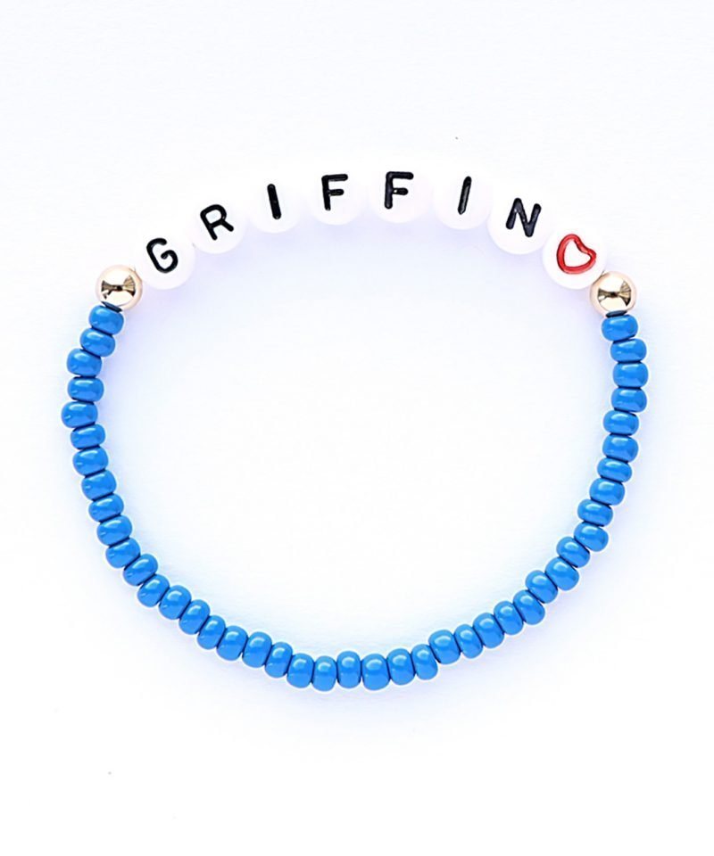 Name Game Bracelet – Color Crush Slate Blue
