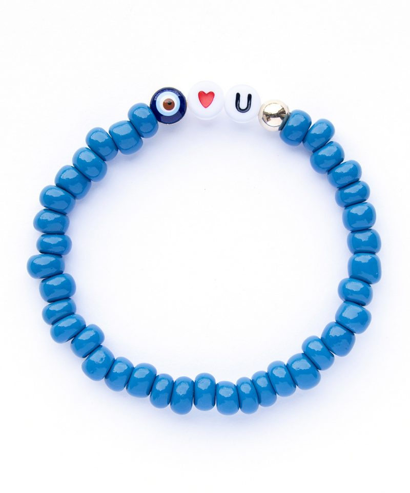 Eye Heart You Bracelet – Stone Blue