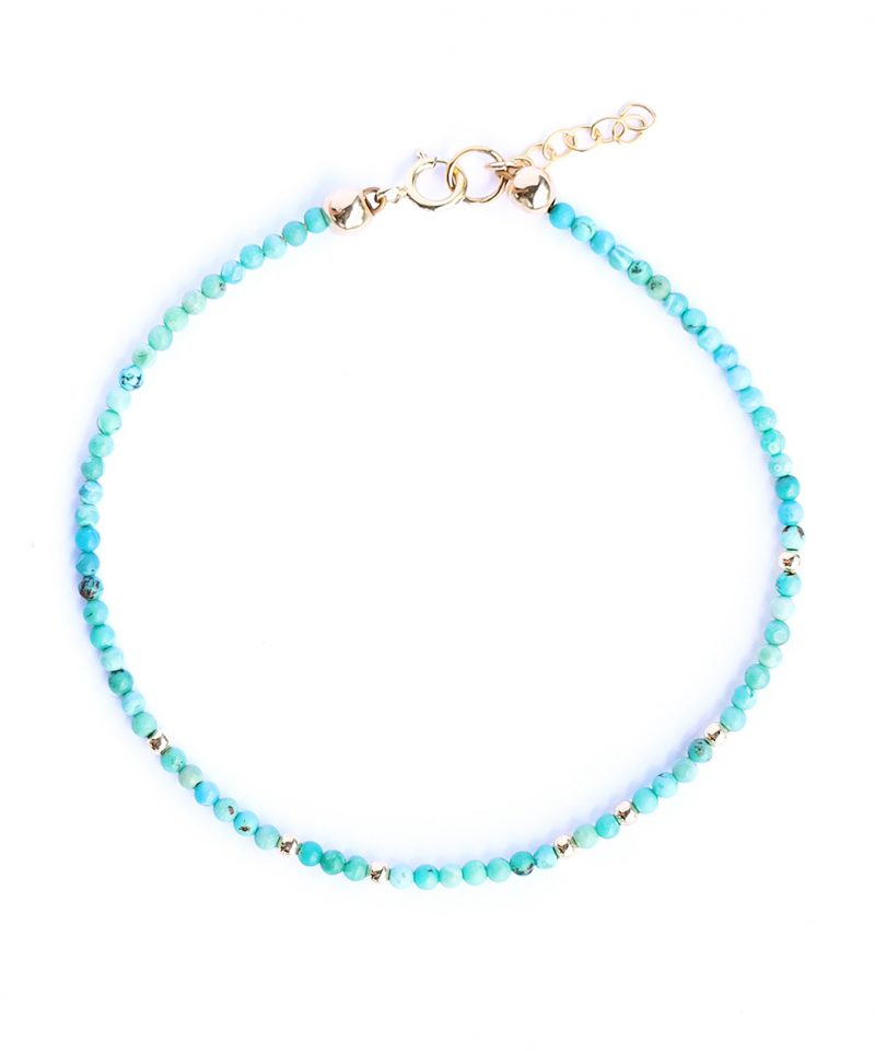 Gemma Bracelet – Turquoise Mini