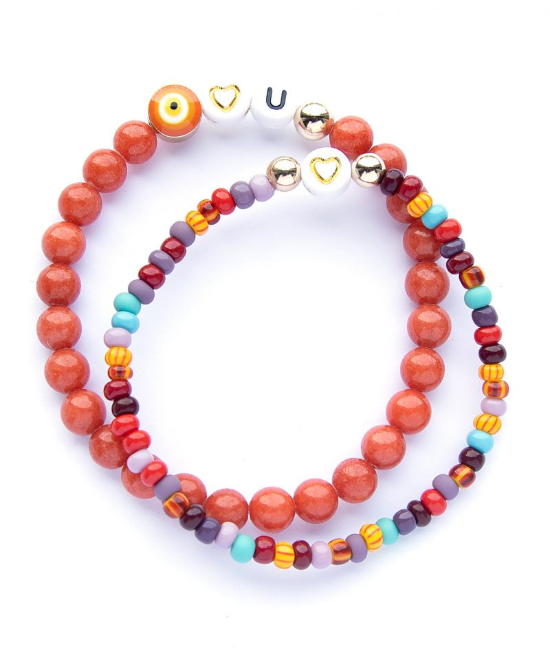 Name Game Bracelet – Color Crush Sangria