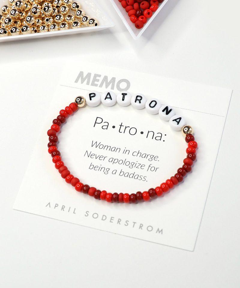 MEMO Bracelet – Patrona