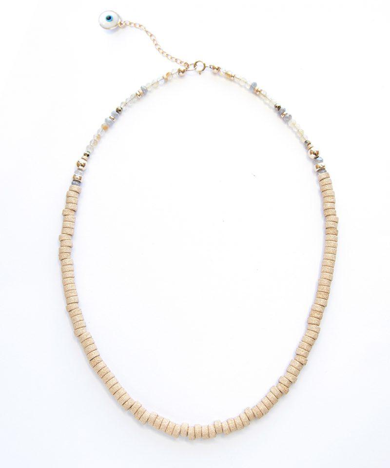 Golden Goose Necklace – 5mm Stardust