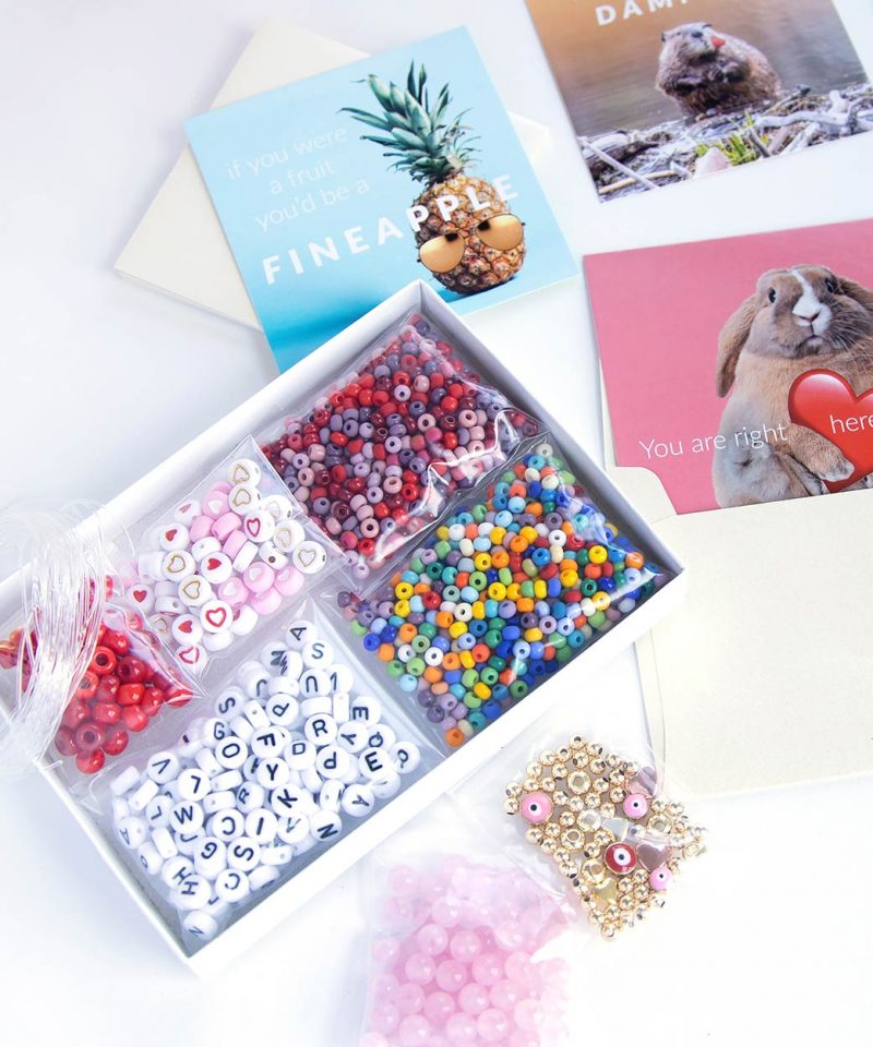 Name Game Bracelet KIT – Valentine's Edition