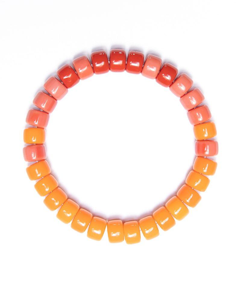 Rolo Bracelet – Orange Ombre