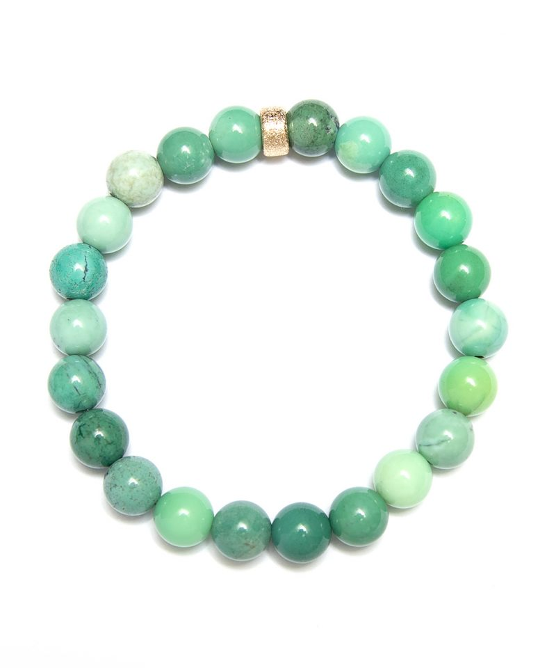 Stardust Green Grass Agate – 8mm