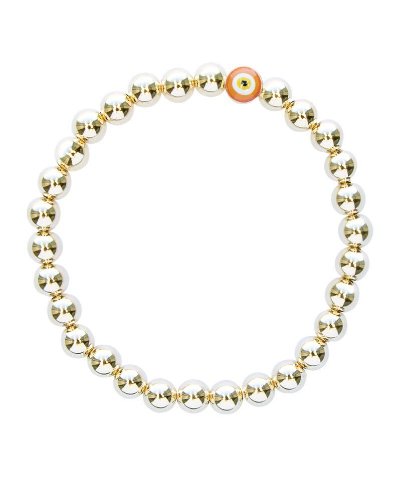 Gilded Evil Eye Bracelet