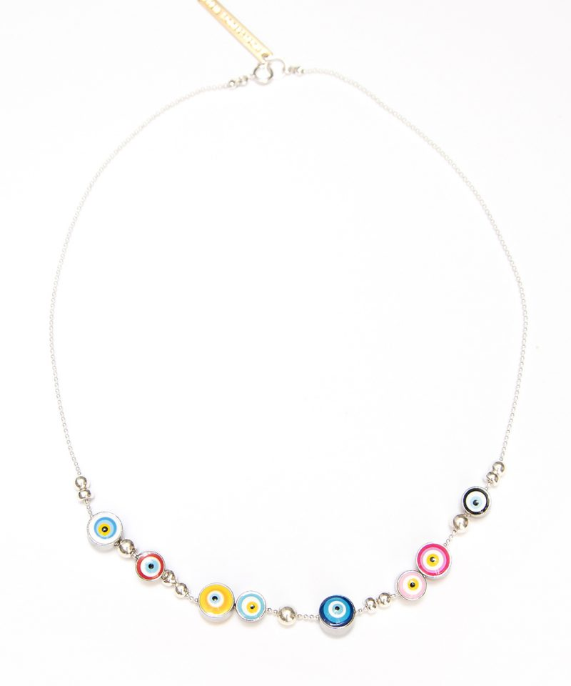 Silver Good Luck Necklace