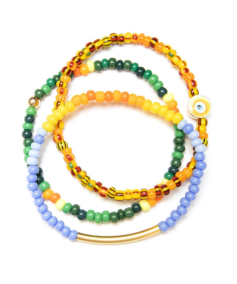 Color Crush Bracelet – Neon Forest