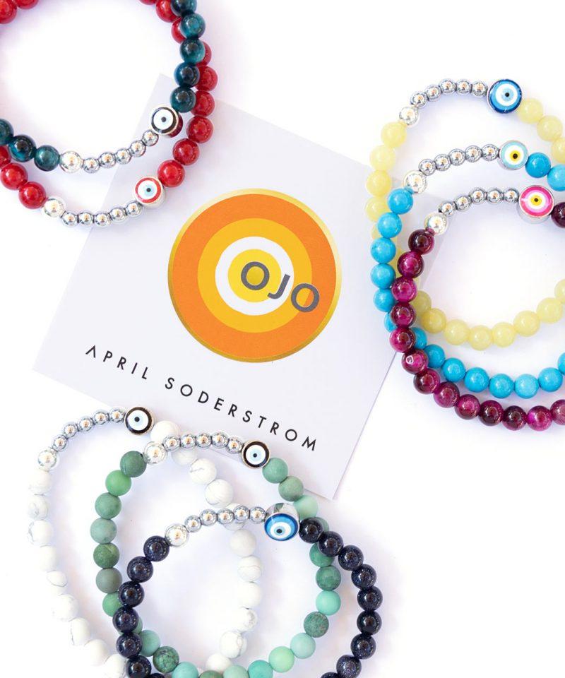 Ojo Bracelet Turquoise – Silver