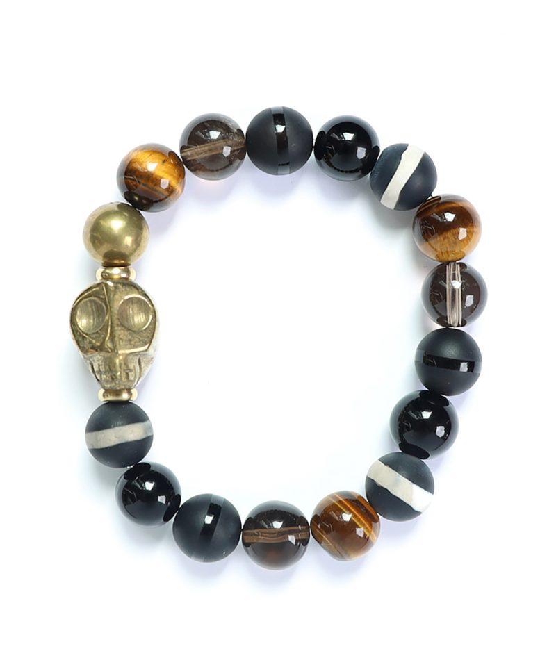 Skele Bracelet – Harlequin Pyrite 10mm