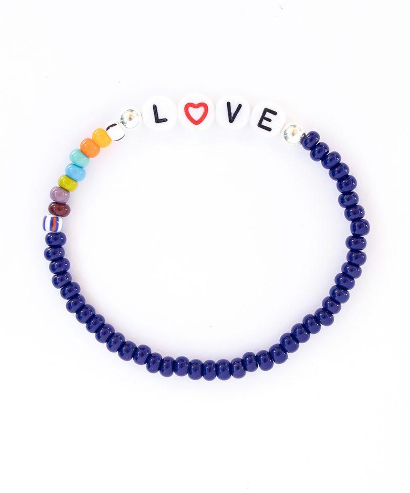 Name Game Bracelet – Navy Color Crush